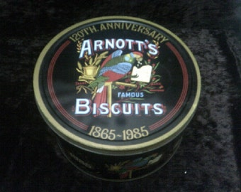 Arnotts Biscuit Tin Nostalgia