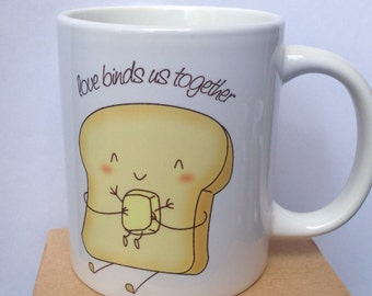 "Mug ""Love binds us together"""
