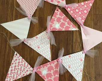 Baby Shower Banner, Baby Shower Pendants, Baby Shower Garland, Cardstock Cutouts, Hole Punched Pendants, Any Pattern, Boy/Girl Baby Shower