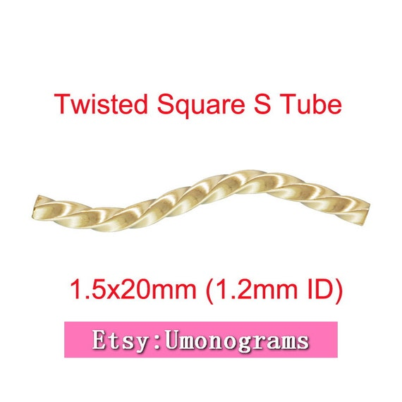 14k gold filled tubes: