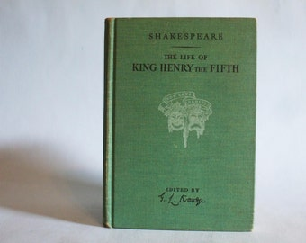 The Life Of King Henry The Fifth by William Shakespeare 1945