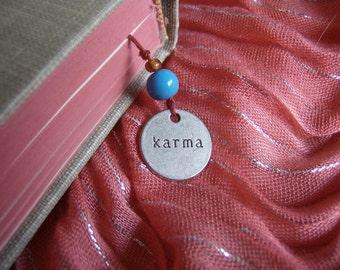 Karma Charm Bookmark Book Thong - Paperbacks