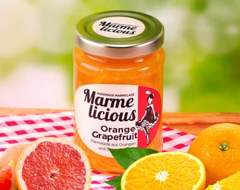 Orange grapefruit Marmalade jam
