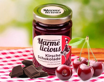Cherry Chocolate fruit spread