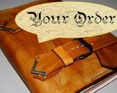 Custom Leather Journal, Handmade Journal, Custom Journal, Personalized Journal, Travel Journal, Notebook, Diary, Gift for Him, Gift for Her