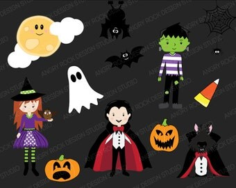 Witches, Frankenstein and Dracula. OH MY!