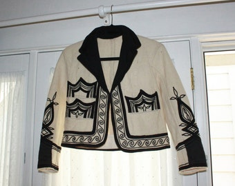 cropped latin american-esque jacket