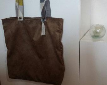 tote bag * bronze crystal *.