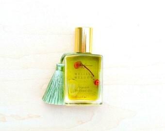 Melissa Meadow • Happy Days • Organic Lemon Balm & German Chamomile Perfume Oil • Artisanal Aromatherapy • Roll-On • Aromatherapy On-The-Go