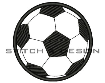 SOCCER BALL APPLIQUE Design Soccer Ball Embroidery Design Soccerball Applique Design Sports Machine Embroidery Designs Instant Download :48