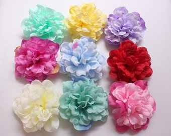 "20 Pcs Artificial Silk Flowers,3.93"",Hair Accessories Flower Supply,For Wedding Pomander Kissing Ball Table Centerpieces(131-40)"