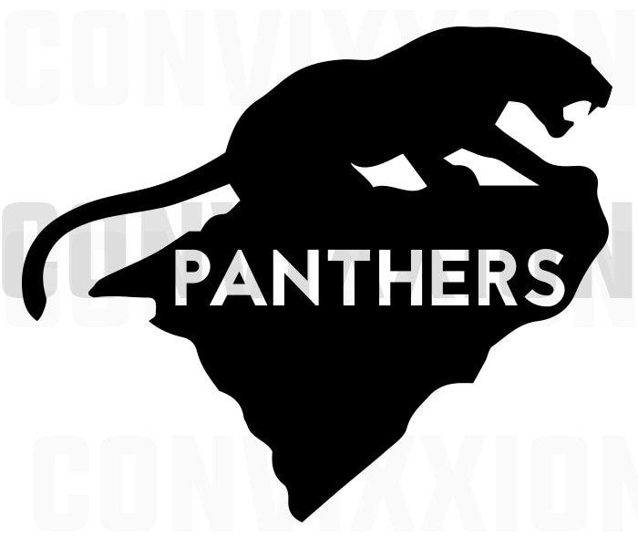 Carolina Panthers Decal North Carolina South By