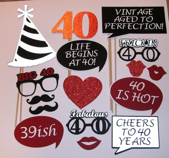 40th Birthday Photo Prop Fabulous 40 39ish 2139D