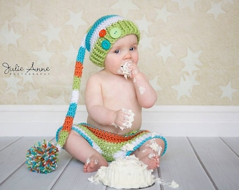 Simple Elf Hat Crochet Pattern All Sizes - CROCHET PATTERN ONLY - All sizes Newborn-Child - Photography Prop Pattern - Crochet Elf Hat
