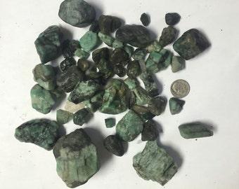 Raw Emerald Crystal Chunk