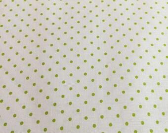 Swiss Dots Lime C660 32
