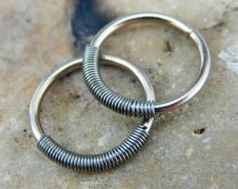 Hoop Earring for men - guys Hoop Earings - Hoop Earrings For Men - Unisex Hoop Earrings -  Hoops for men