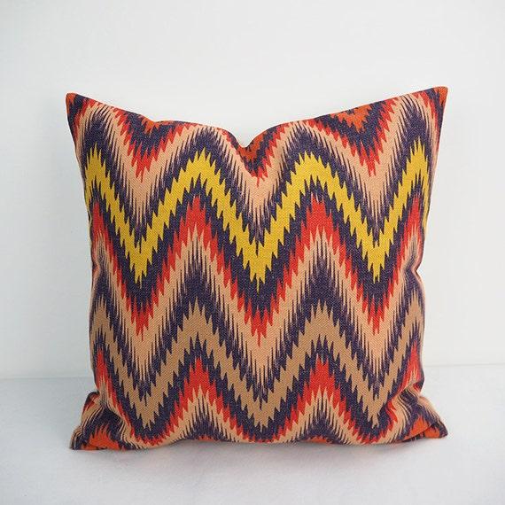 Chevron pillow Throw pillow covers Decorative Throw by HomeDecorYi
