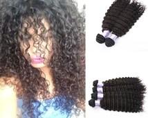 7A Rich naked Hair Brazilian deep  wave Human REMY VIRGIN Hair Bundles,3pcs Brazilian Virgin Hair Extension hair weaving hair weft