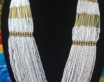 Gorgeous White Necklace- FREE SHIPPING
