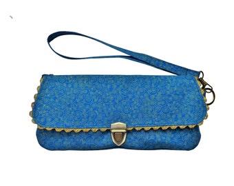 Handmade evening bag clutch Lina