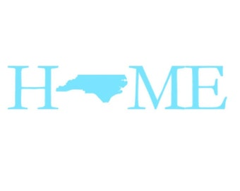 NC Home Decal