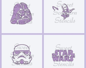 SW Stencils  (4 separate stencils)