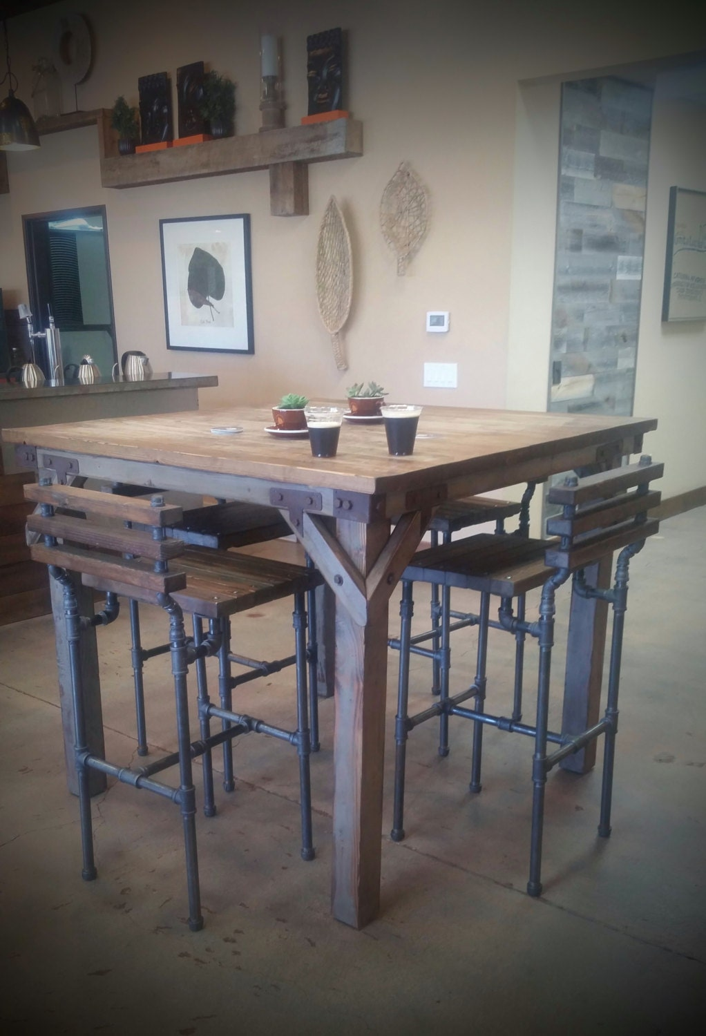 Bodhi pub table for Pub style kitchen table