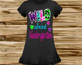 Back to School Dress - Kindergarten Dress - Preschool Dress