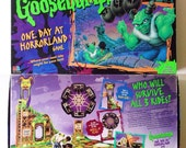 Vintage (1996) Goosebumps One Day at Horrorland Board Game by Milton Bradley
