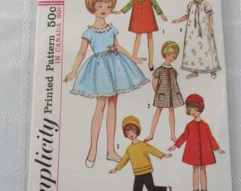 Simplicity Barbie Pattern 6207  pattern is complete  (1965)
