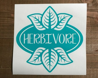Herbivore Leaf Decal