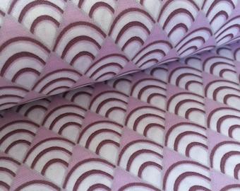 Tanya Whelan Deco Fans Lavender Fabric