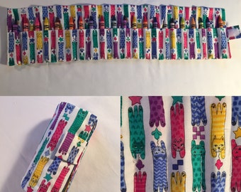 Handmade Crayon Roll-Up