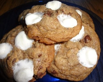 Soft and Chewy Homemade S'More Cookies (3 Dozen)