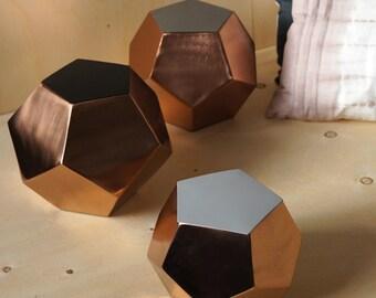 Diamond Copper Boxes