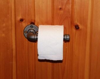 Steampunk Toilet tissue holder
