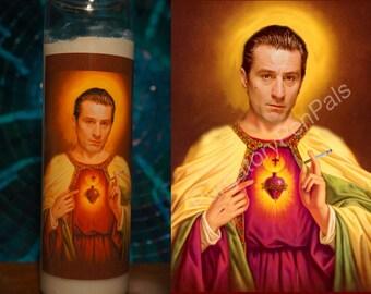 Robert De Niro Prayer Candle / Goodfellas