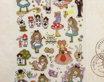 Alice Stickers - Pretty Fairytale