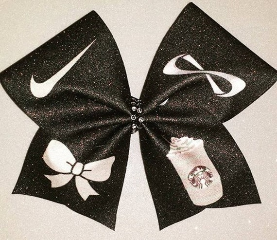 Nike pros nfinities bows and starbucks - Cute cheer bows ...