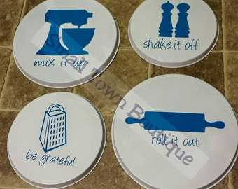 Stove Burner Covers- Set of 4
