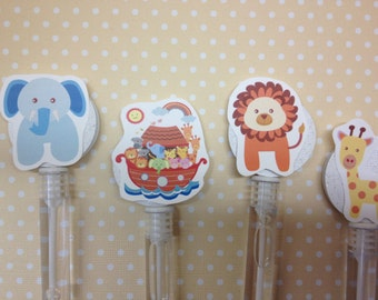 Noah's Ark Party or Baby Shower Bubble Favors - Set of 10