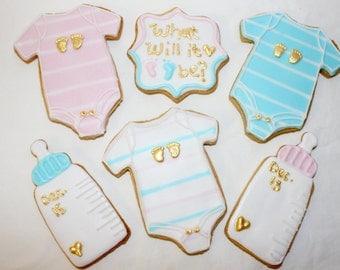 Baby Boy/Girl Sugar Cookies