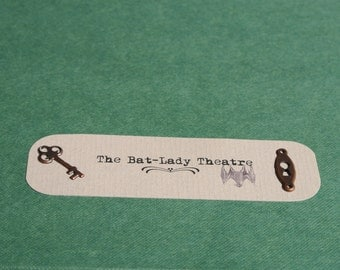 The Bat Lady Theatre - Artist Book