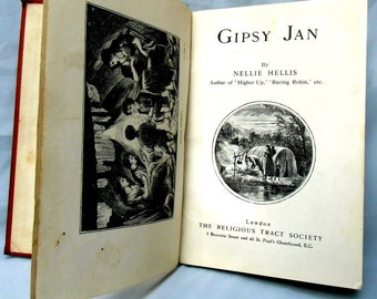 1900 c, GIPSY JAN by Nellie Hellis, Collectible book B00