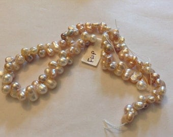 Natural color fresh water pearls