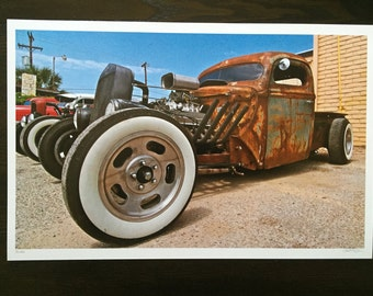 Rat Rod 11X17 Frame