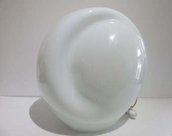 Mid-Century Modern Vistosi Munego Glass Lamp
