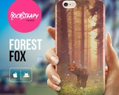 Forest Fox iPhone 6 case iPhone 6 6s Plus case samsung galaxy s7 s6 s5 case iPhone 5 5s SE 5C case animal art cell phone cover