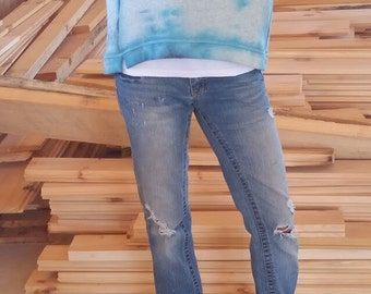 Ice Dyed Ann Taylor Pullover size M